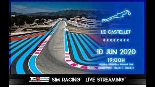 2020 Le Castellet, TCR Europe Simracing Rounds 7 & 8