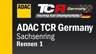 ADAC TCR Germany Race 1 Sachsenring 2018 Re-Live ENGLISH