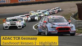 Highlights ADAC TCR Germany Zandvoort Rennen 2 2018