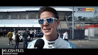 2019 Hockenheim, TCR Europe & TCR Benelux. Interview with pole sitter Josh Files