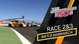 Marrakech race 2 and 3 touringcar action WTCR with Tom Coronel in the Cupra TCR