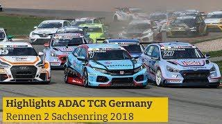 Highlights ADAC TCR Germany Rennen 2 Sachsenring 2018
