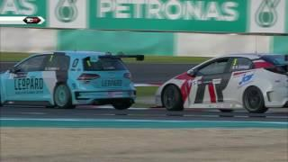 Classic TCR race in Sepang: action, action and action!!! 2016 Sepang, TCR Round 19 Clip