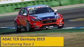 2019 Sachsenring, TCR Germany Round 14 in full
