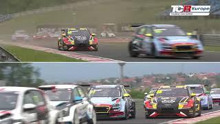 2019 Hungaroring, TCR Europe Round 1 Clip