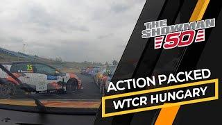 Action packed racing in the WTCR 2019 at the Hungaroring, Tom Coronel Cupra