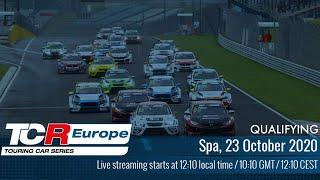 2020 TCR Europe | Qualifying | Spa