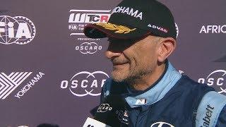 INTERVIEW - Gabriele Tarquini wins the Race 2 in Marrakech