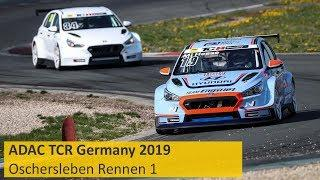 2019 Oschersleben, TCR Germany Round 1 in full