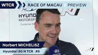 2019 Macau, FIA WTCR - Hyundai Team Preview