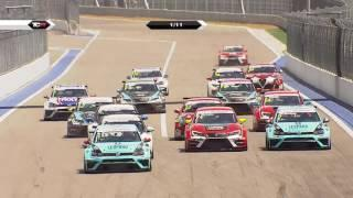 2016 Sochi, TCR 26-minute HLTS. Action packed races and championship lead change again!