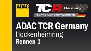 ADAC TCR Germany Rennen 1 Hockenheim 2018 DEUTSCH Re-Live