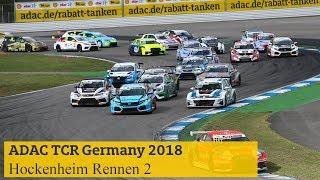 Hightlights ADAC TCR Germany Rennen 2 Hockenheim 2018