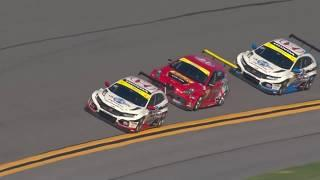Rolex 24 at Daytona Michelin Pilot Challenge TCR Highlights
