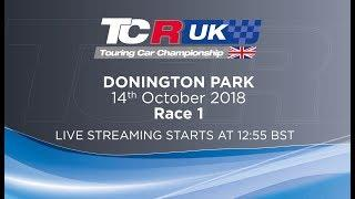 2018 TCR UK -Round 7- Donington, Race 1