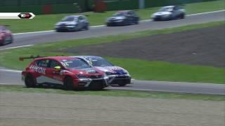 2016 Imola, TCR Round 7 Clip. Comini Back on top
