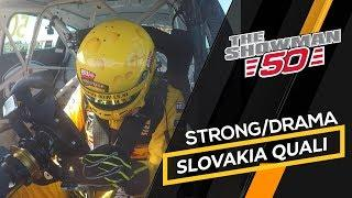 Huge disappointment after strong pace but bad result in WTCR qualifying in Slovakia for Tom Coronel