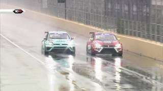 Have you ever seen Macau in the rain? 2016 Macau, TCR Qualifying Clip