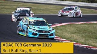 2019 Red Bull Ring, TCR Germany Round 5 in full