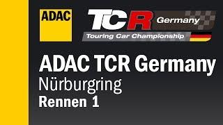 ADAC TCR Germany Race 1 Nürburgring 2018 ENGLISH Re-Live