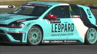 Grid girls really enjoyed the race! 2016 Estoril, TCR Round 4 clip