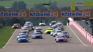 Highlights ADAC TCR Germany Rennen 1 Sachsenring 2018