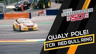 2019 Red Bull Ring, TCR Europe - Coronel on pole for race 2