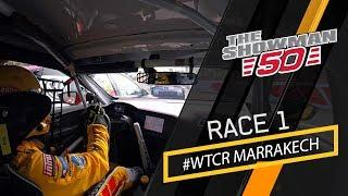 WTCR race 1 drama on the streets with Tom Coronel, Cupra TCR in Marrakech
