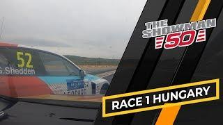 Touringcar action at the WTCR race of Hungary with Tom Coronel in the Cupra TCR, 2019 (race 1)