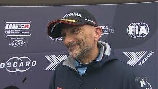 Gabriele Tarquini wins Race 3 in Hungary