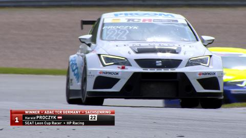 ADAC TCR Germany Sachsenring 2016 Race 1 News Clip