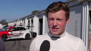 2019 Winton, TCR Australia test. Interview with Will Brown