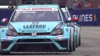 Vernay on pole. 2016 Singapore, TCR Qualifying clip