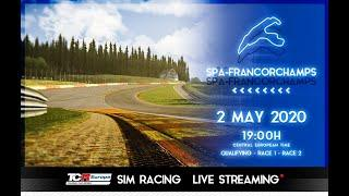 2020 Spa-Francorchamps, TCR Europe Simracing Rounds 1 & 2