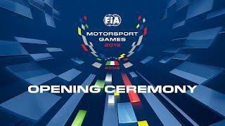 2019 Rome, FIA Motorsports Games - Opening Ceremony