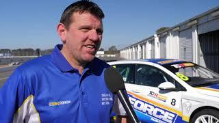 2019 Winton, TCR Australia Test. Interview with Jason Bright