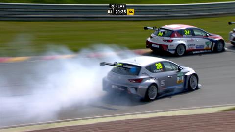 ADAC TCR Germany Sachsenring 2016 Race 2 News Clip
